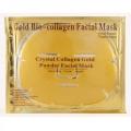 Золотая маска для лица с коллагеном